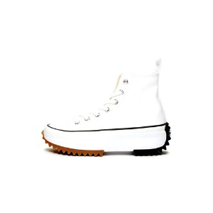 컨버스 런스타 하이크 화이트 Converse Run Star Hike Hi White Black Gum 166799C